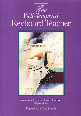 Well-Tempered Keyboard Teacher  N/A 9780028717807 Front Cover