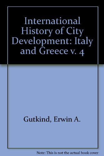 Urban Development in Southern Europe Italy and Greece  1969 edition cover