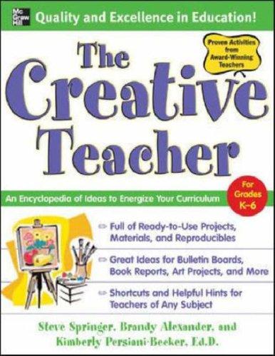 Creative Teacher An Encyclopedia of Ideas to Energize Your Curriculum  2007 edition cover