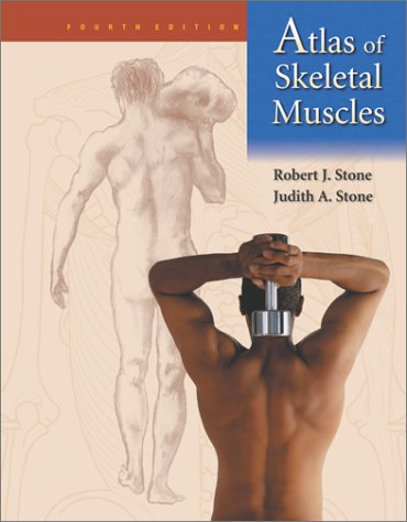 Atlas of Skeletal Muscles 4th 2003 (Revised) edition cover
