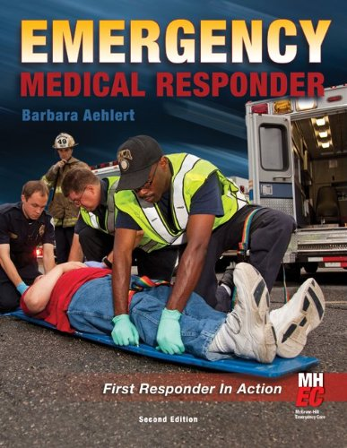 Emergency Medical Responder First Responder in Action 2nd 2011 edition cover