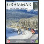 Grammar Form and Function Level 2 Student Book with E-Workbook  2nd 2008 (Revised) 9780078051807 Front Cover