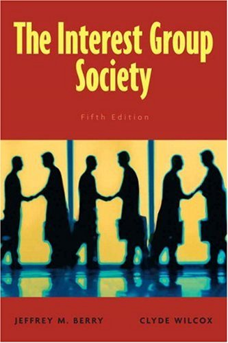 Interest Group Society  5th 2009 (Revised) edition cover