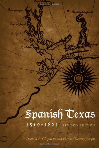 Spanish Texas, 1519-1821  2nd 2010 (Revised) edition cover
