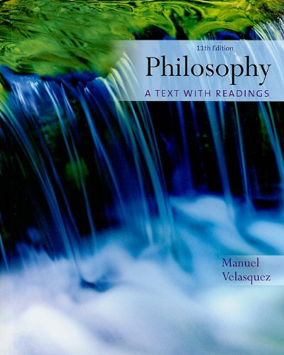 Philosophy A Text with Readings 11th 2011 edition cover