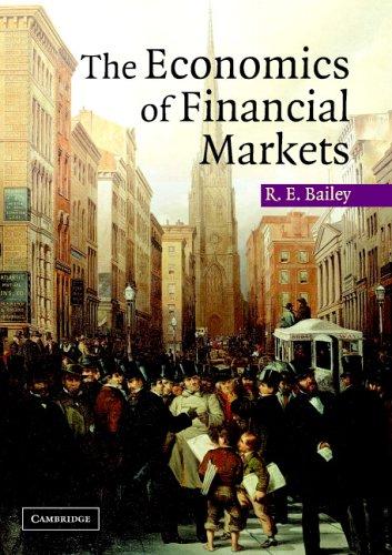 Economics of Financial Markets   2005 edition cover