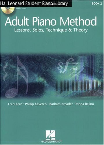 Adult Piano Method Lessons, Solos, Technique and Theory  2005 edition cover