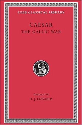 Gallic War   1917 edition cover