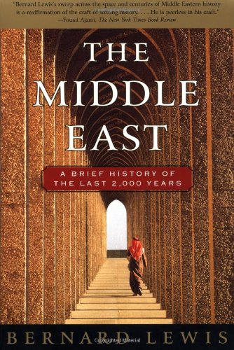 Middle East A Brief History of the Last 2,000 Years  1997 edition cover