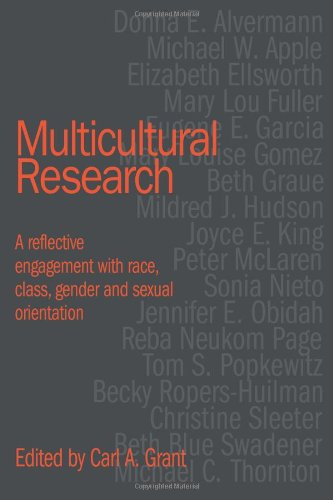 Multicultural Research A Reflective Engagement with Race, Class, Gender and Sexual Orientation  1998 9780750708807 Front Cover