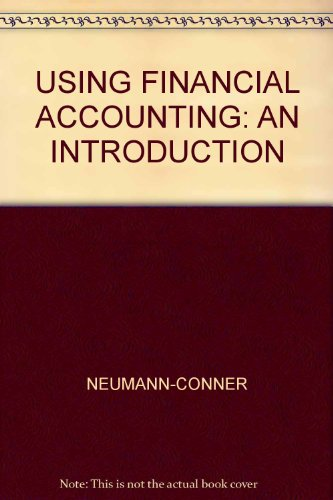 Using Financial Accounting An Introduction 2nd 2003 (Revised) 9780757501807 Front Cover