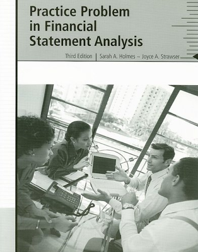 Practice Problem in Financial Statements:  2nd 2006 9780759367807 Front Cover