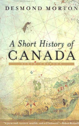 Short History of Canada  6th 2006 edition cover