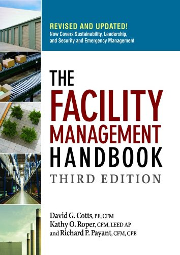 Facility Management Handbook  3rd 2009 (Handbook (Instructor's)) edition cover