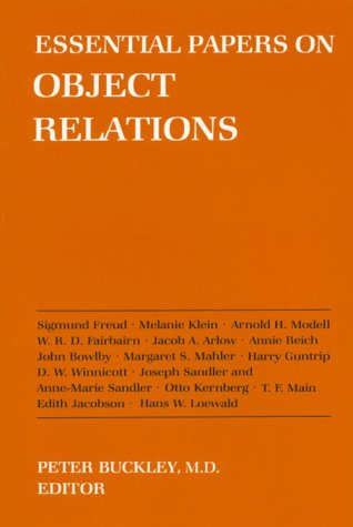 Essential Papers on Object Relations   1986 edition cover