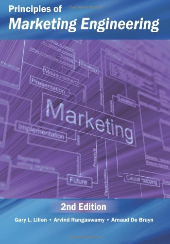 Principles of Marketing Engineering  2nd 2013 edition cover