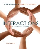 Interactions: A Thematic Reader  2015 edition cover
