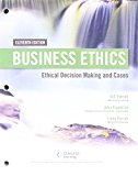 Business Ethics + Mindtap Management, 1-term Access: Ethical Decision Making & Cases  2016 9781305792807 Front Cover