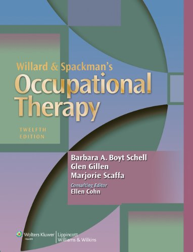 Willard and Spackman's Occupational Therapy  12th 2014 (Revised) 9781451110807 Front Cover