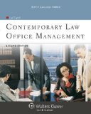 Contemporary Law Office Management  2nd edition cover