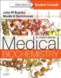 Medical Biochemistry With STUDENT CONSULT Online Access 4th 2014 edition cover
