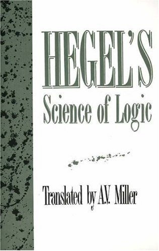 Hegel's Science of Logic  N/A edition cover