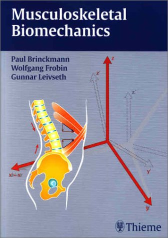 Musculoskeletal Biomechanics   2002 edition cover