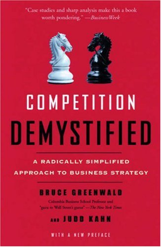 Competition Demystified A Radically Simplified Approach to Business Strategy  2007 edition cover