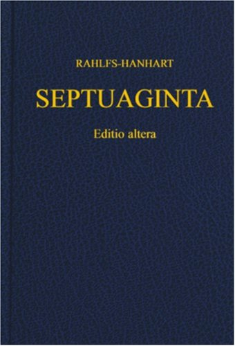 Septuaginta   2006 edition cover
