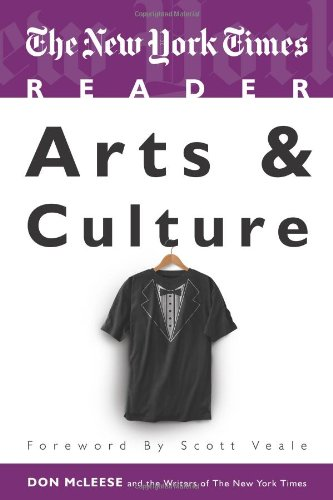 New York Times Reader Arts and Culture  2010 (Revised) edition cover