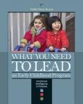 What You Need to Lead an Early Childhood Program Emotional Intelligence in Practice N/A edition cover