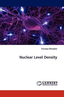Nuclear Level Density  N/A 9783838353807 Front Cover