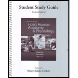 Student Study Guide Hole's Human Anatomy and Physiology  13th 2013 edition cover
