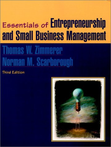Essentials of Entrepreneurship and Small Business Management  3rd 2002 edition cover