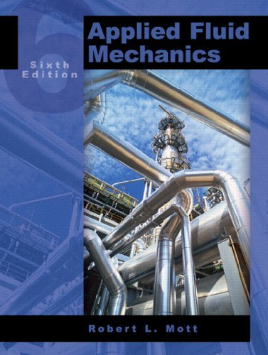 Applied Fluid Mechanics  6th 2006 (Revised) edition cover