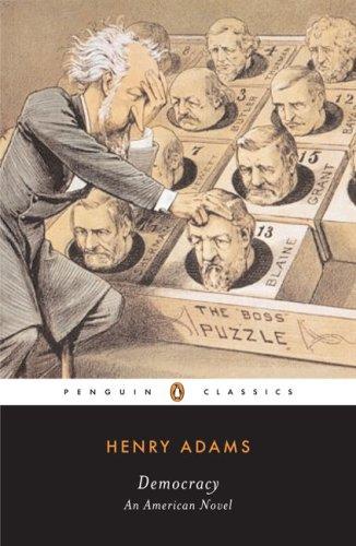 Democracy An American Novel  2008 edition cover