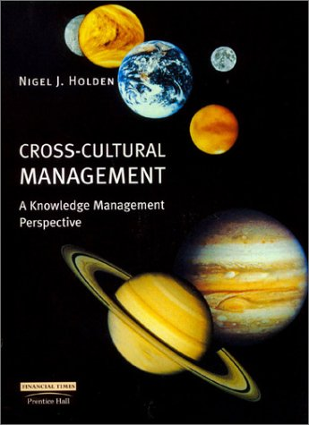 Cross-Cultural Management A Knowledge Management Perspective  2002 9780273646808 Front Cover