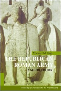 Republican Roman Army A Sourcebook  2009 edition cover