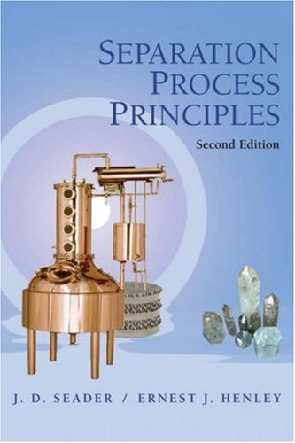 Separation Process Principles  2nd 2006 (Revised) edition cover