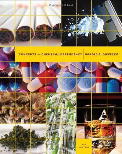 Concepts of Chemical Dependency  7th 2009 edition cover