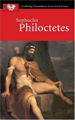 Sophocles Philoctetes  2001 edition cover