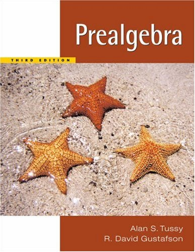 Prealgebra  3rd 2006 (Revised) 9780534402808 Front Cover