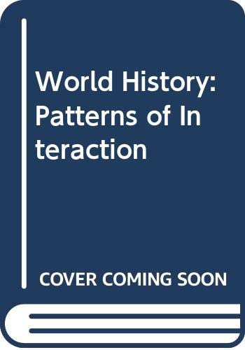 World History Patterns of Interaction N/A 9780618131808 Front Cover