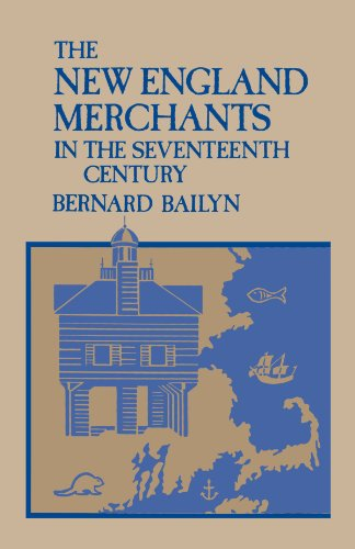 New England Merchants in the Seventeenth Century   1955 edition cover