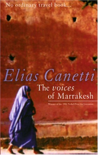 Voices of Marrakesh A Record of a Visit  2001 edition cover