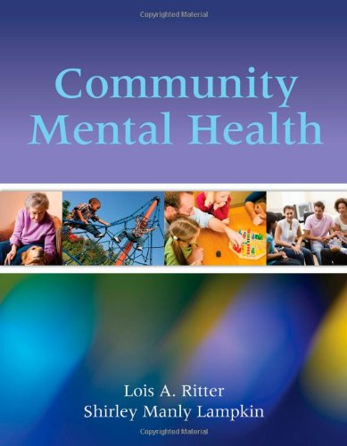 Community Mental Health   2012 (Revised) edition cover