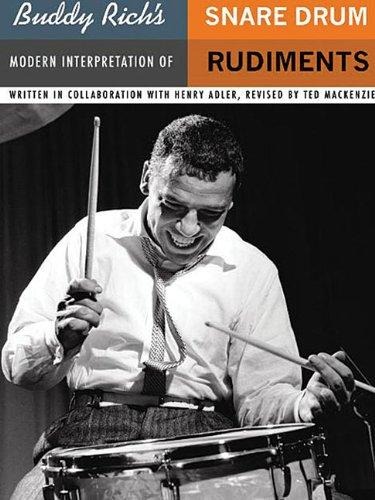 Buddy Rich's Modern Interpretation of Snare Drum Rudiments   2005 edition cover