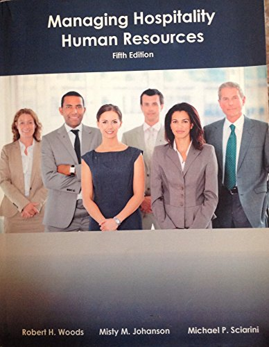 MANAGING HOSPITALITY HUMAN RES N/A edition cover
