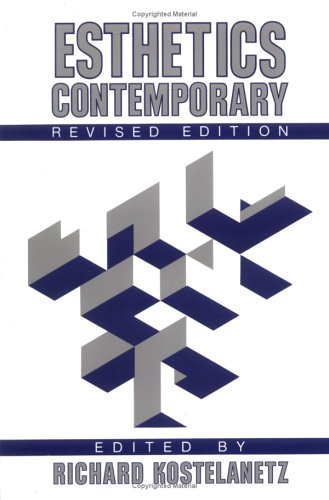 Esthetics Contemporary  2nd 1989 (Revised) 9780879754808 Front Cover