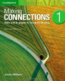 MAKING CONNECTIONS LEVEL 1 STUDENT'S BOOK 2ND EDITION  2nd 2013 9781107683808 Front Cover